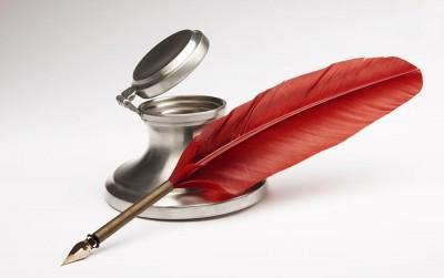 piros-madártoll-tinta-SEO-barát szöveg-írása